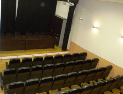 Interior del auditorio